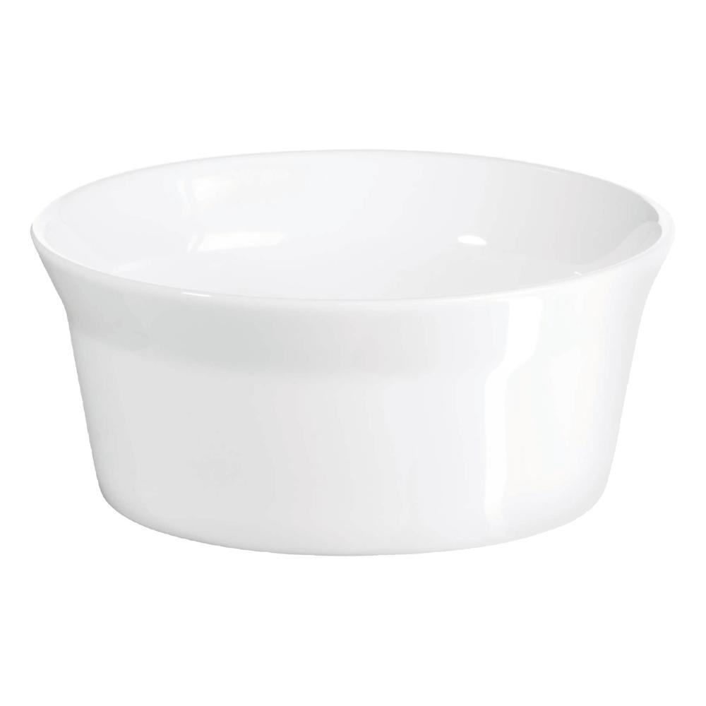 White 52010017 Consumers First New Fashion Asa 250°c Soufflé Mold Oven Mould 250 Ml Round Porcelain