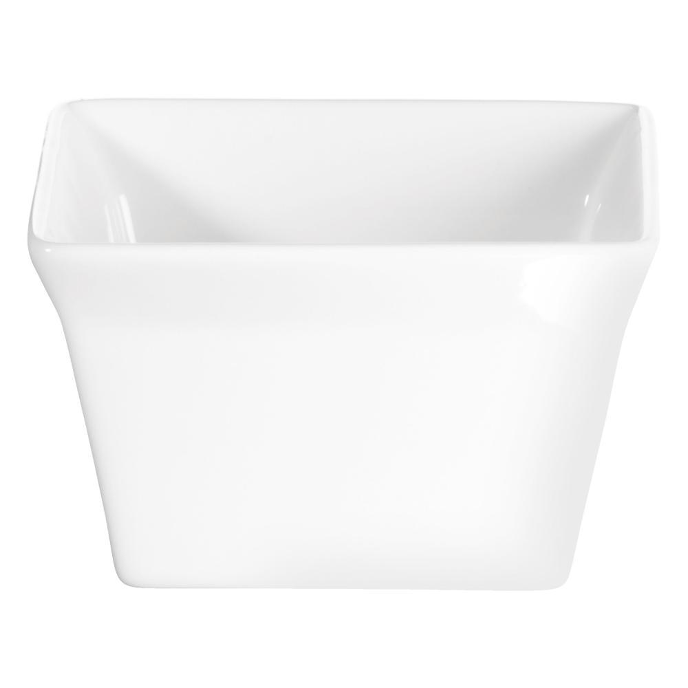 Square Mould Steady Asa 250°c Soufflé Mold Porcelain 52030017 Souffle White 200ml