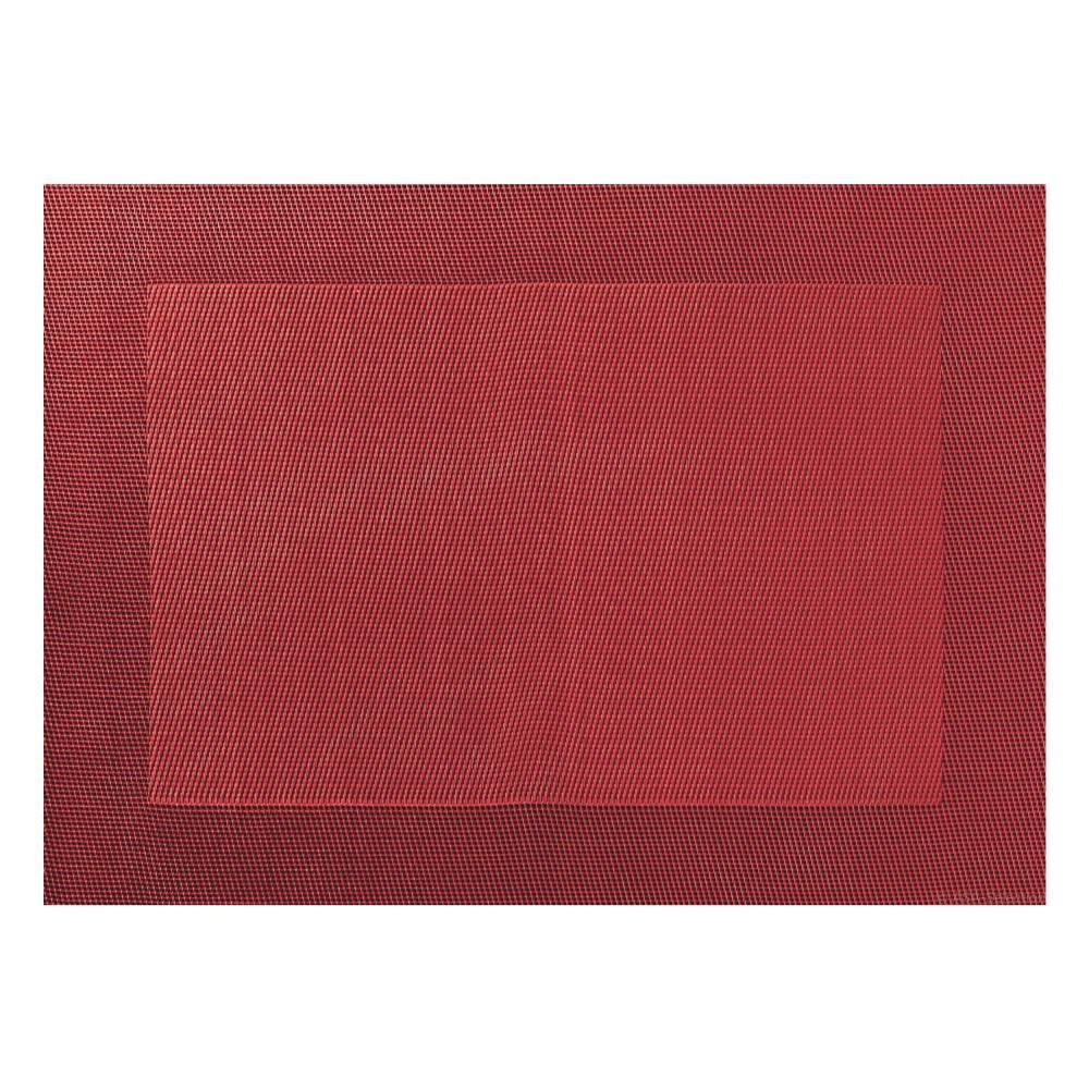 ASA Selection PVC Tischset mit Gewebtem Rand PVC Granatapfel B 33 cm 78115076
