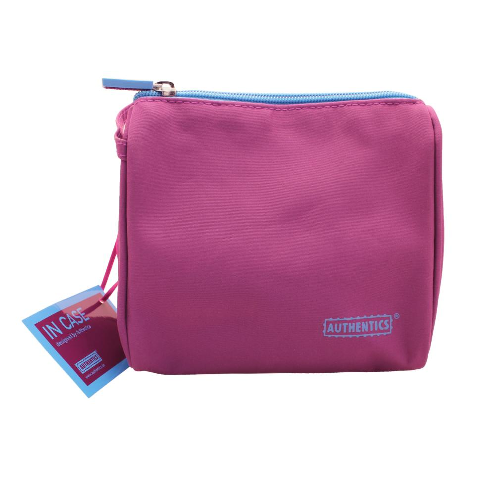 Authentics In Case Kosmetiktasche Small 15x15x7 Cm 6030054 Microfaser Violett