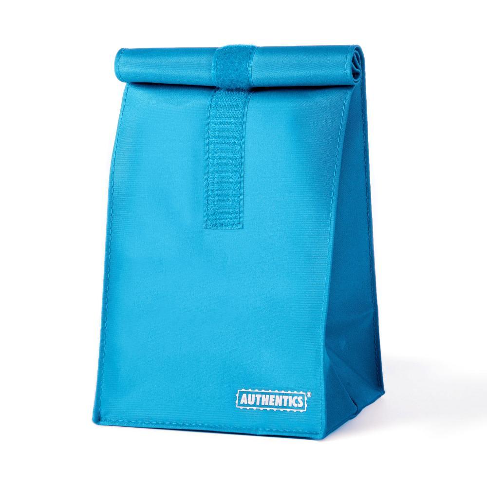 6031146 Offen Authentics Rollbag Klein Blau 14x29x11.5 Cm Rollverschl. Mikrofaser