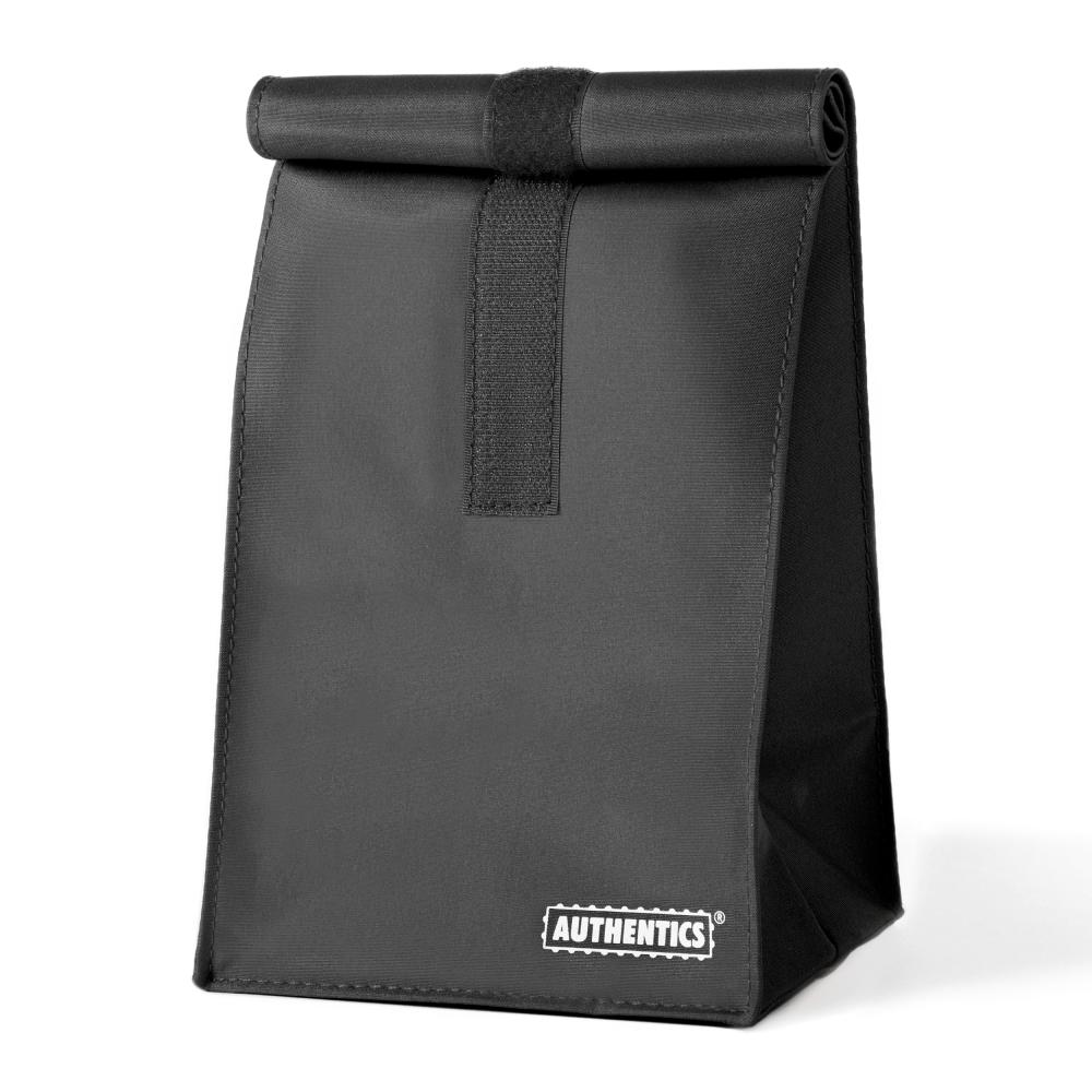 Klettversch. Schwarz 19x39x12 Cm 6031204 Moderater Preis Mikrofaser Ehrlichkeit Authentics Rollbag Mittel