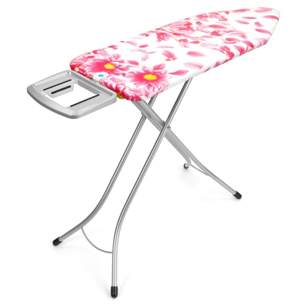 Table-Repasser-Brabantia-124x45cm-C-Repose-Fer-Pied-Acier-25mm-Pink-Grey-101366