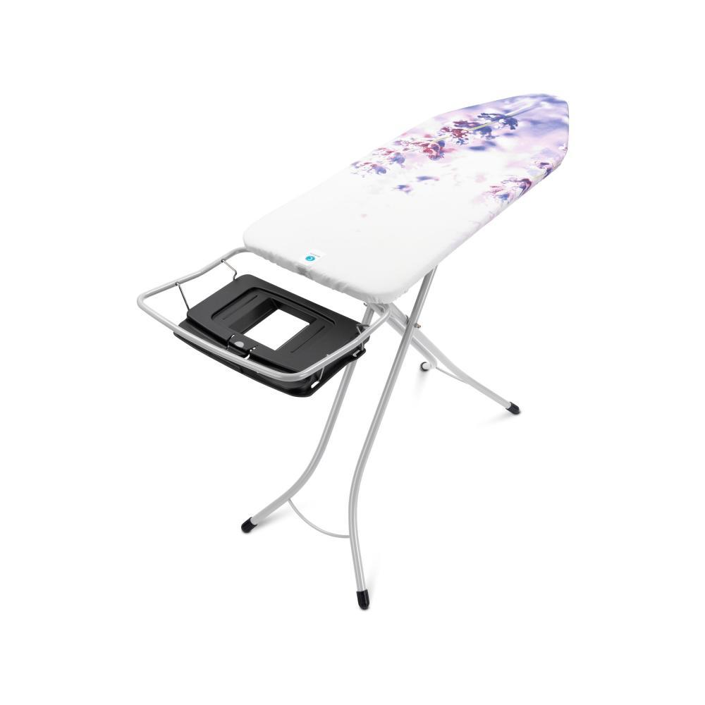 Brabantia-Table-a-Repasser-124x45cm-Support-Centrale-Vapeur-Armature-Tubulaire
