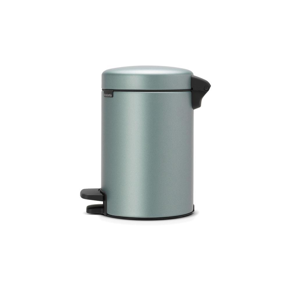 Brabantia-Newicon-Treteimer-Muelleimer-Kosmetikeimer-Metallic-Mint-3-L-113345