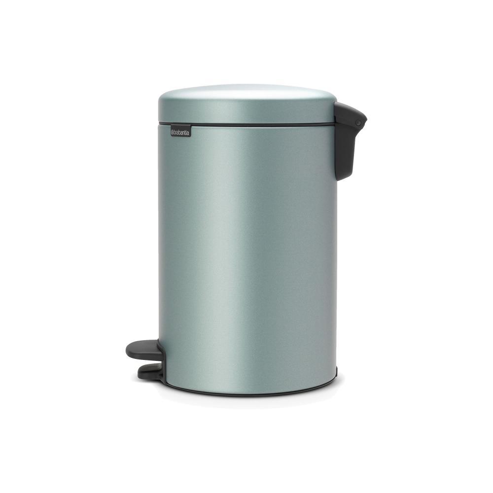 Brabantia-Newicon-Treteimer-Muelleimer-Abfalleimer-Metallic-Mint-12-L-113765