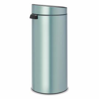 Touch Bin 30 Liter.Brabantia Touch Bin Trash Can Wastebasket Dustbin In Metallic Mint 30 L 115424 At About Tea De Shop