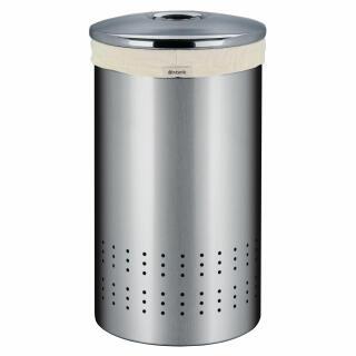 Brabantia Wasbox 50 Liter Matt Steel.Brabantia Laundry Bin In Matt Steel With Matt Steel Lid 50 Litre 360220 At About Tea De Shop