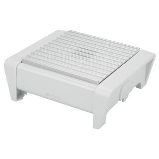 Miraculous Brabantia Food Warmer 1 Burner White With Grey Grille 477065 At About Tea De Shop Bralicious Painted Fabric Chair Ideas Braliciousco