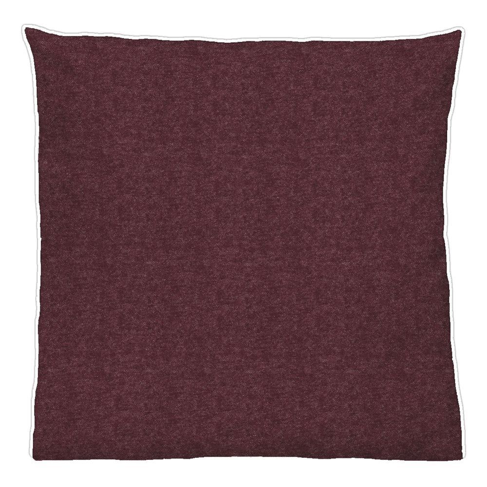 WohltäTig Biberna Melange-flanell Kissenbezug Kissen Bezug Kissenhülle Bordeaux 40 X 80cm Hoher Standard In QualitäT Und Hygiene Bettwäsche