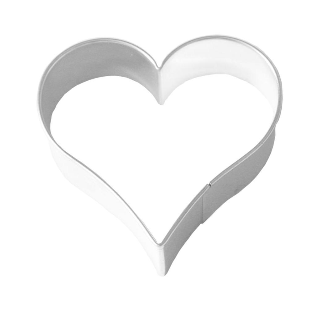 Birkmann Lebkuchen-Ausstechform Herz Ausstecher Plätzchenform Edelstahl 12 cm