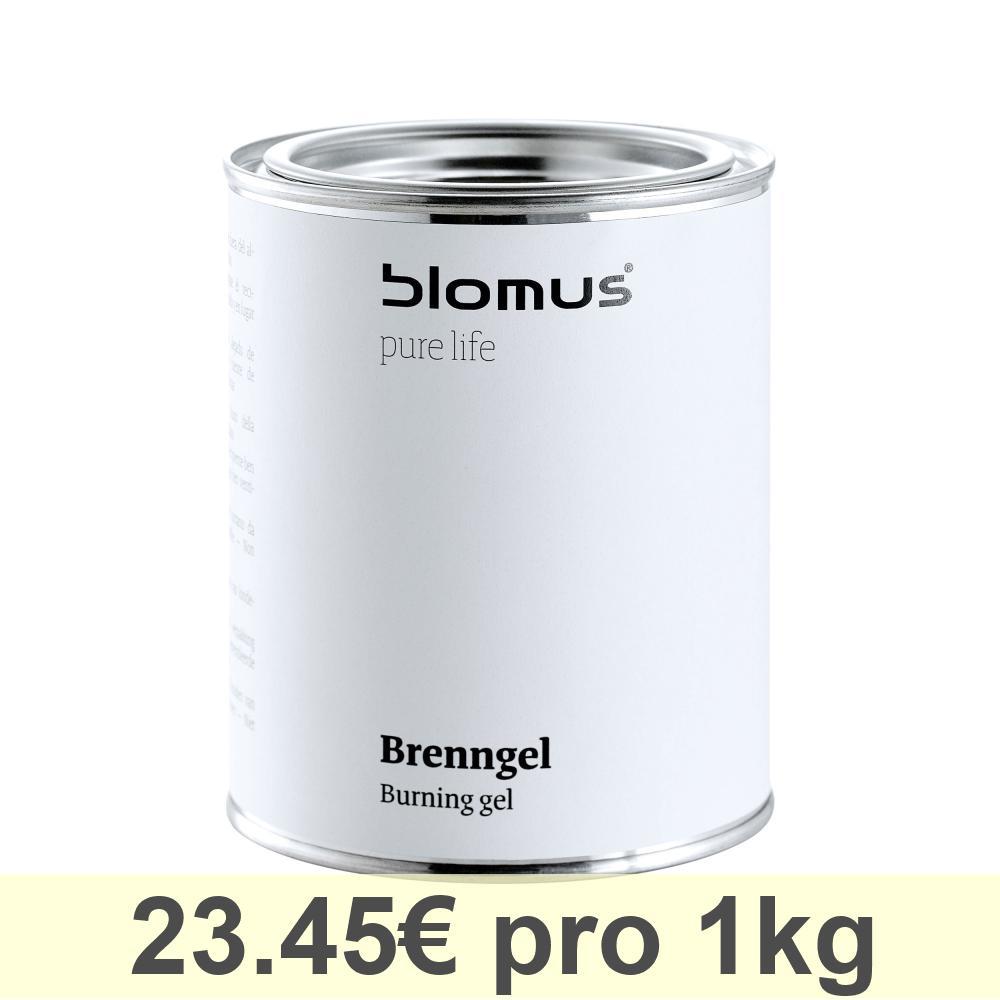 Blomus Brenngel-Dose, für Gel-Feuerstelle Luna, Brenngel, Zubehör, 500 ml, 31057