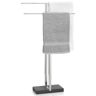 blomus towel stand menoto towel holder matt stainless. Black Bedroom Furniture Sets. Home Design Ideas