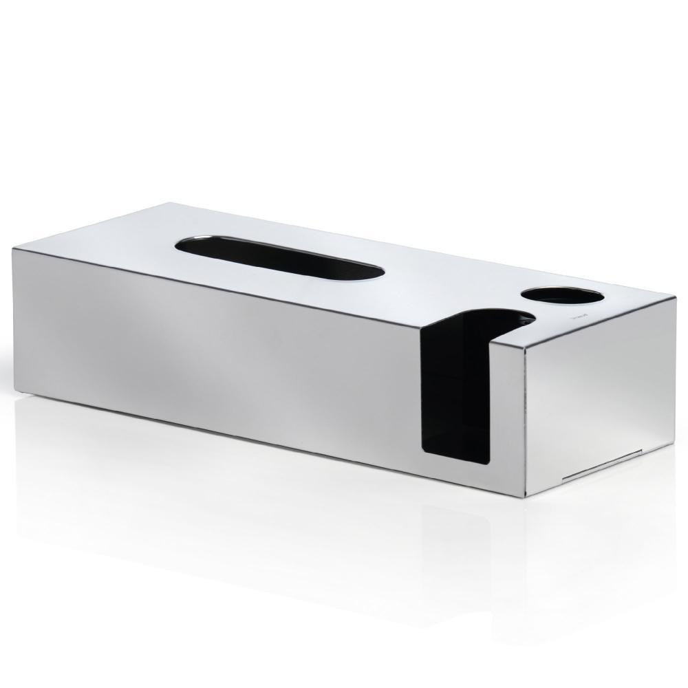 Blomus-Kombibox-Nexio-fuer-Kosmetiktuecher-Wattestaebchen-Edelstahl-poliert-68690