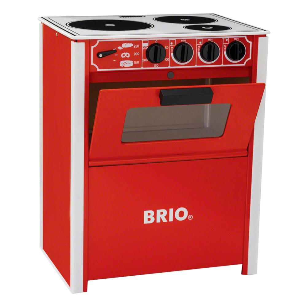 BRIO Herd Spielküche Holzspielzeug Küche Kinderküche Holz Spielzeug ...