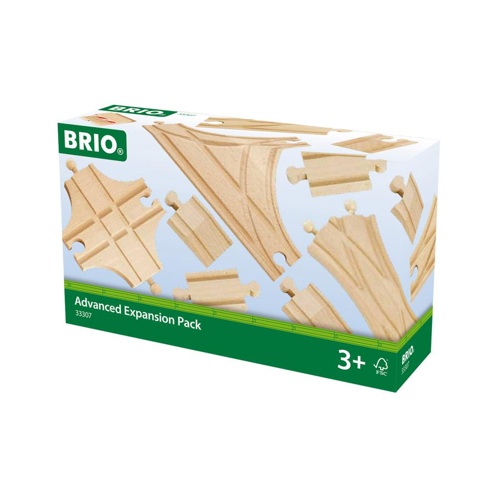 Brio Rails & Switches Range Range Range 11 pcs Points Accessory for Wooden Railway Toy Wood 16e5a4