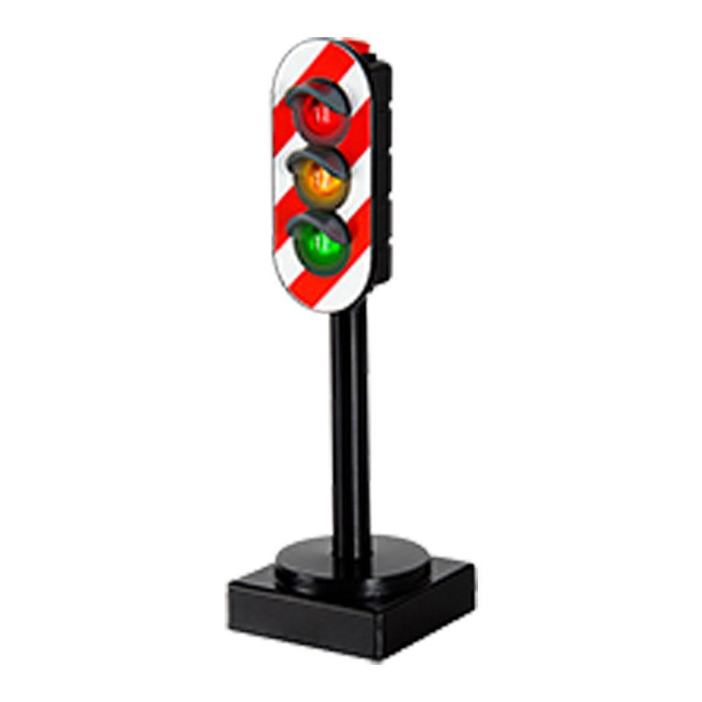 BRIO Luce Segnale semaforo Ferroviario Legno Ferrovia Giocattoli di legno giocattolo in legno