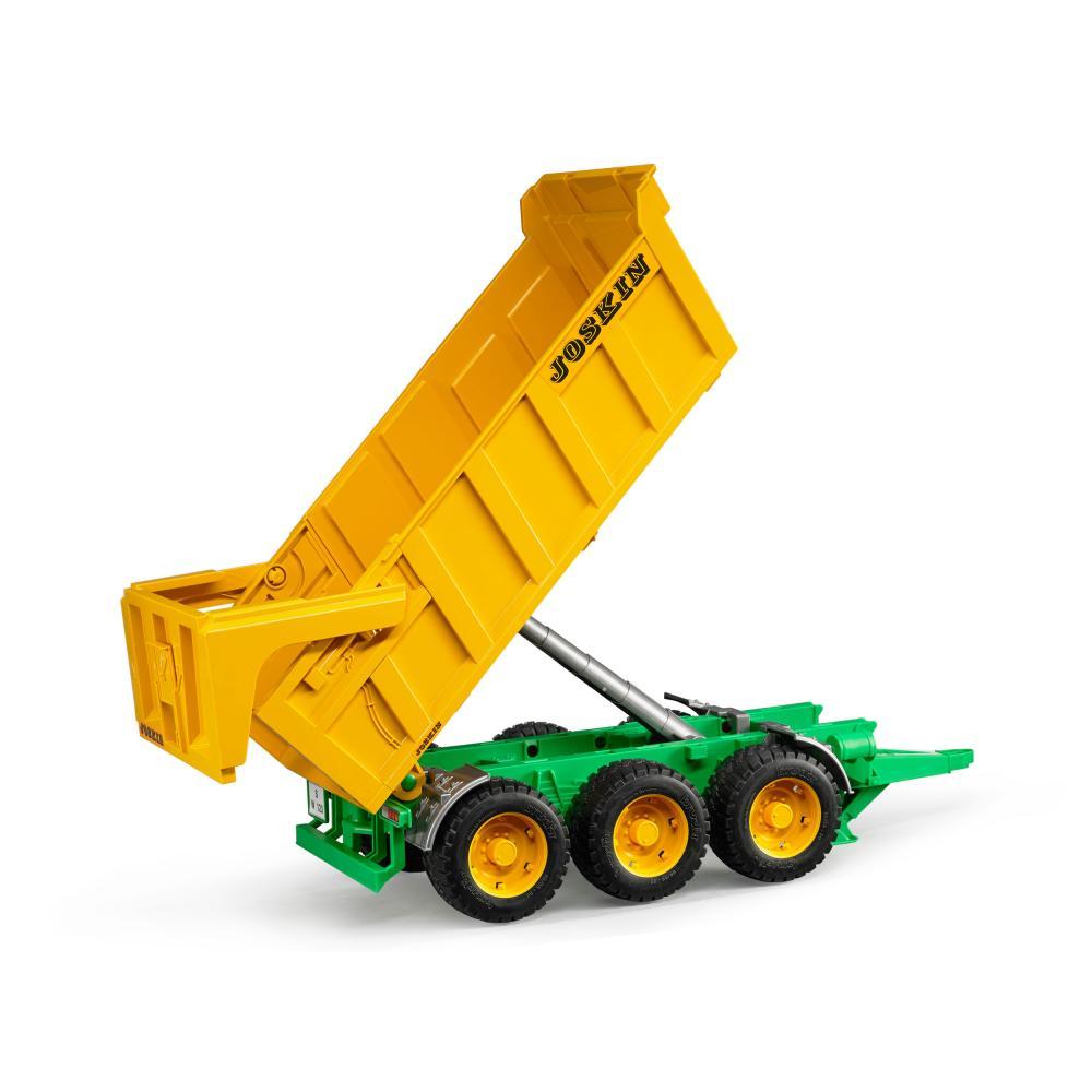 miniatura 3 - Fratello agricoltura JOSKIN vasche Kipp rimorchio modello veicolo giocattolo