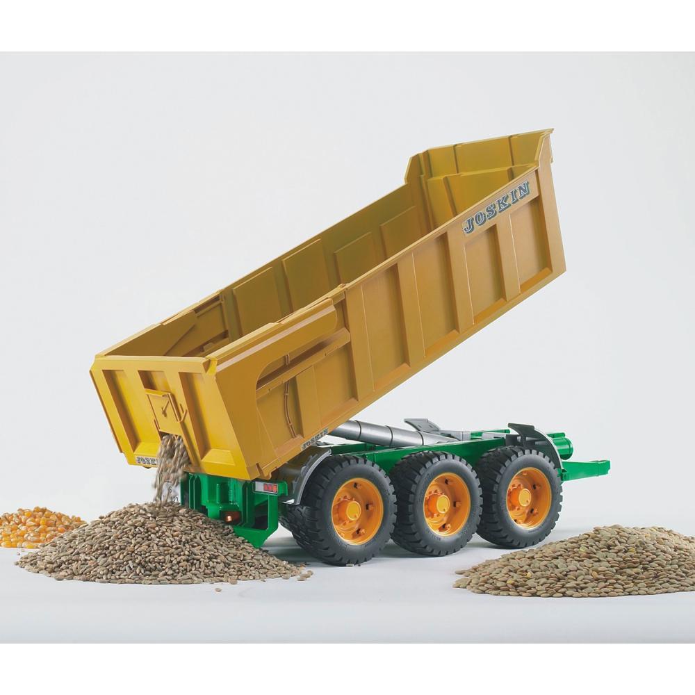 miniatura 4 - Fratello agricoltura JOSKIN vasche Kipp rimorchio modello veicolo giocattolo