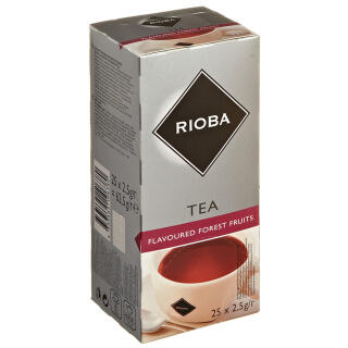 rioba tea flavoured forest fruits aromatic fruit tea with. Black Bedroom Furniture Sets. Home Design Ideas