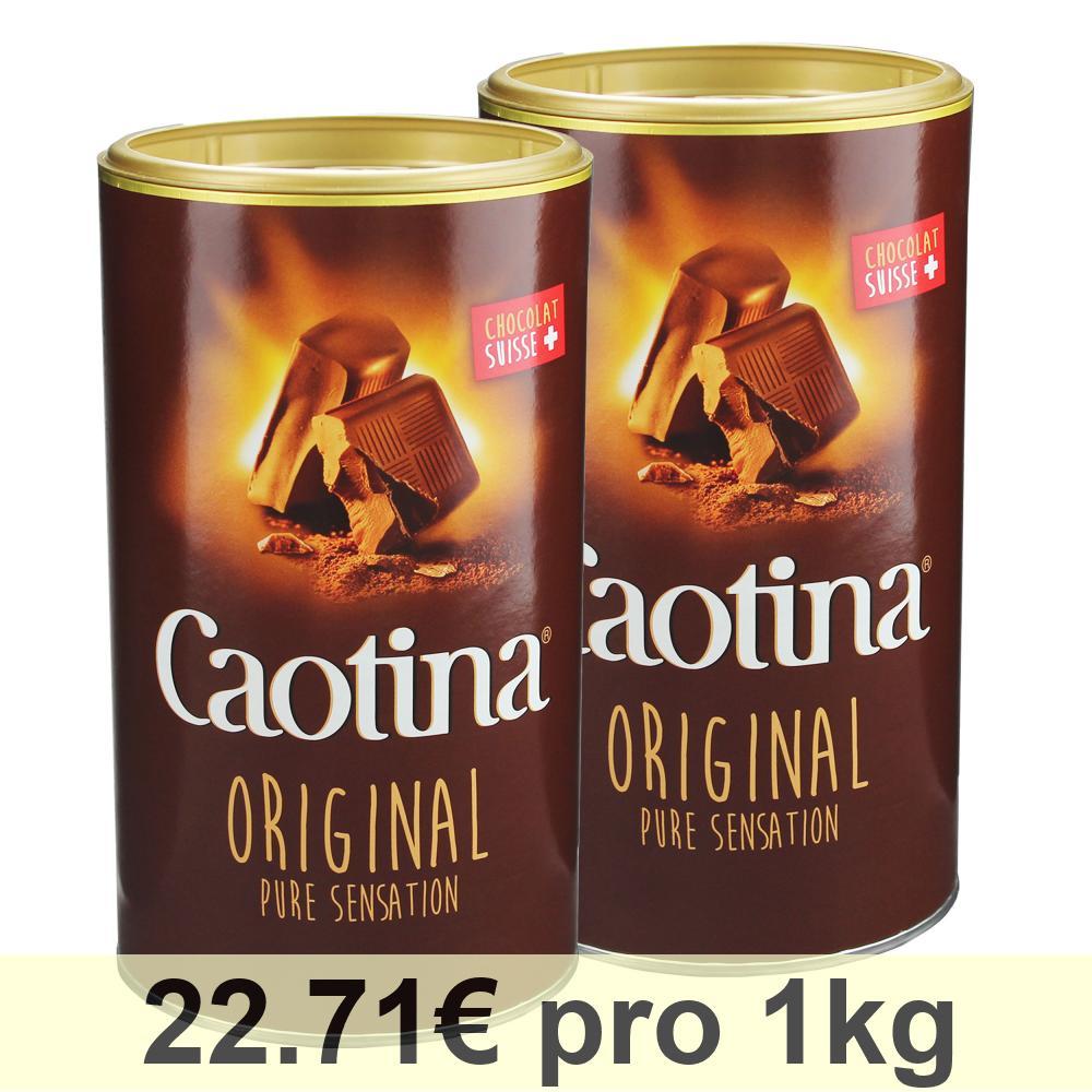 Caotina-original-KAKAO-Pulver-mit-Schweizer-Schokolade-Dose-2er-Pack-2-x-500g