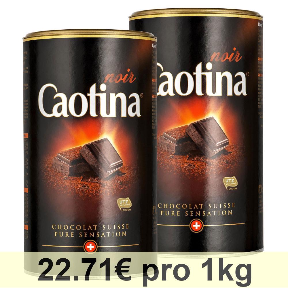 Caotina-noir-KAKAO-Pulver-mit-dunkler-Schweizer-Schokolade-2er-Pack-2-x-500g