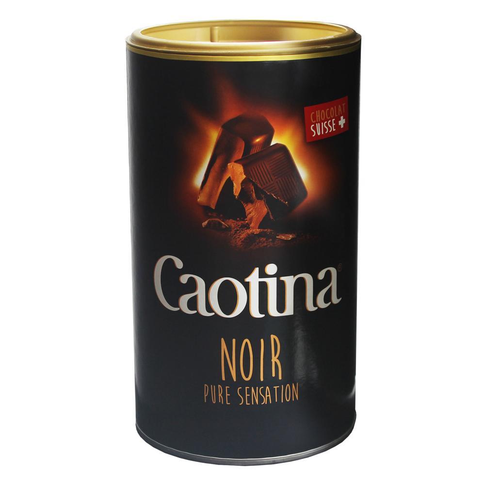 Caotina-noir-KAKAO-Pulver-mit-dunkler-Schweizer-Schokolade-2er-Pack-2-x-500g Indexbild 2