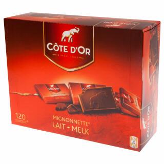Côte Dor Mignonnette Milk Chocolate Tablets Luxurious