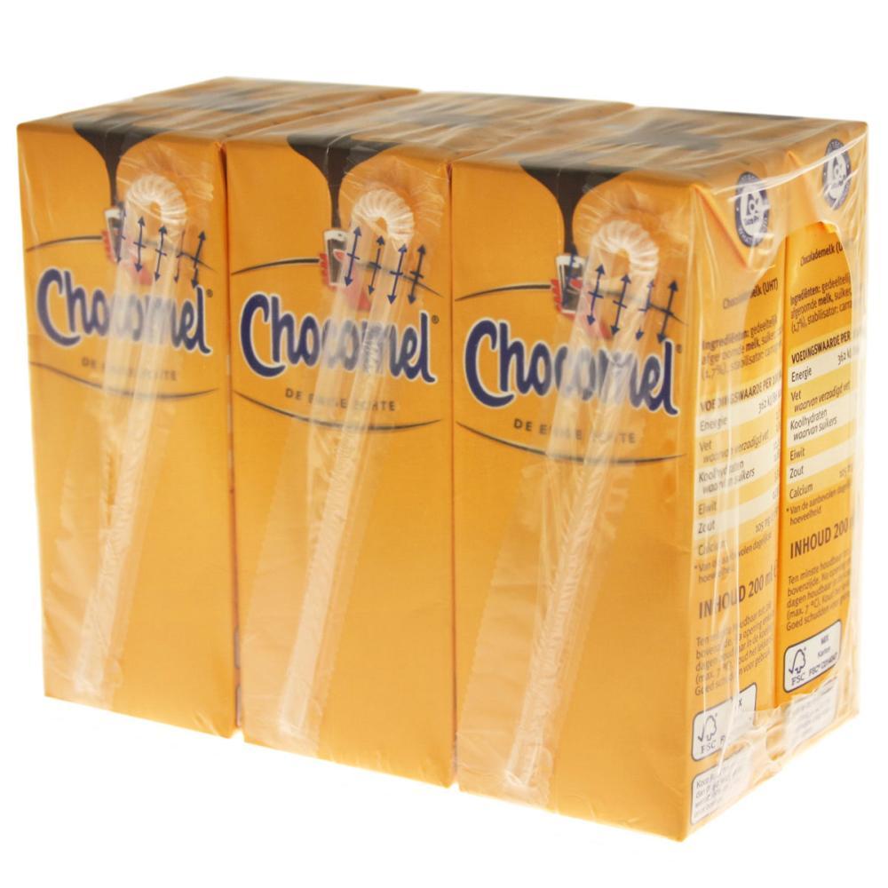 Chocomel-KAKAO-Trinkpaeckchen-30er-Set-Trinkschokolade-Schoko-Drink-Holland-200ml Indexbild 2