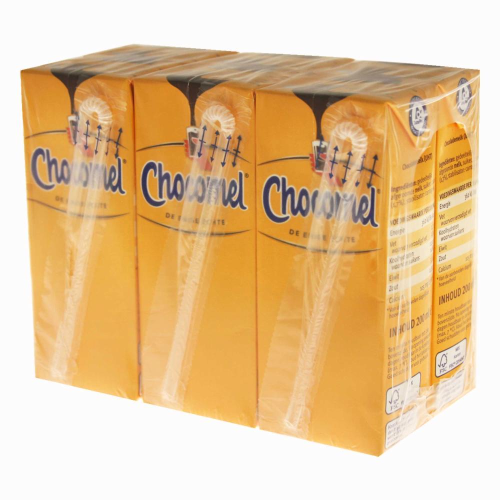 Chocomel-KAKAO-Trinkpaeckchen-30er-Set-Trinkschokolade-Schoko-Drink-Holland-200ml Indexbild 3