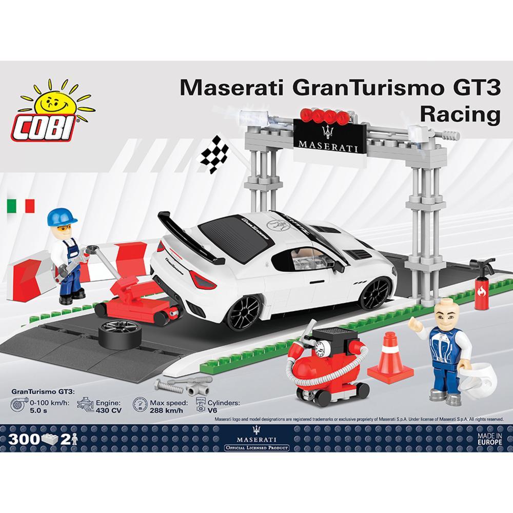 COBI Maserati Gran Turismo GT3 Racing Construction Blocks Toys 300 parts