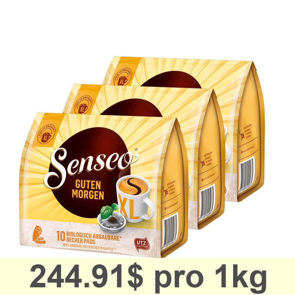 Details About Senseo Guten Morgen Xl Strong Intensive New Design Pack Of 3 á 125 G