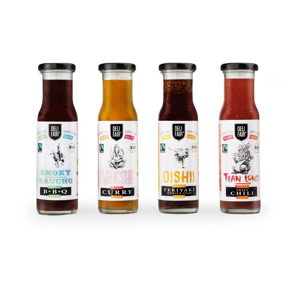 DeliFair-Teriyaki-Oishi-Ingwer-amp-Sesam-6er-Wuerz-Sauce-Sosse-Fairtrade-Bio-240ml Indexbild 7