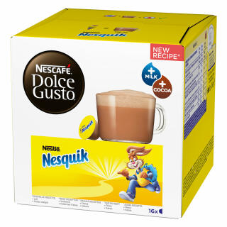 nescaf dolce gusto nesquik 16 capsules at about shop. Black Bedroom Furniture Sets. Home Design Ideas