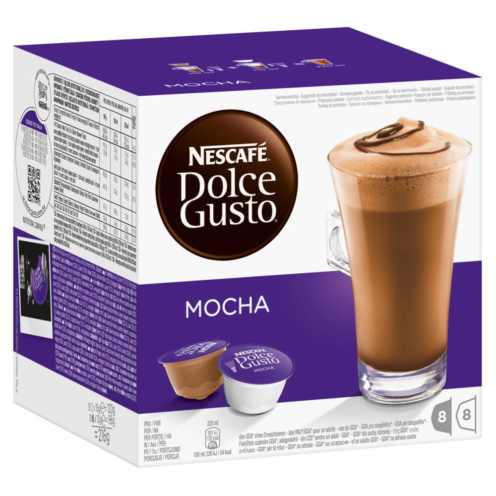Nescafé Dolce Gusto Chocolate Trio Mocha Nesquik Chococino Kaffee 48 Kapseln