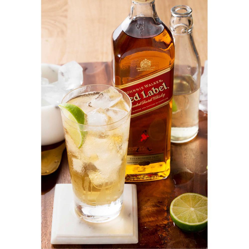 Johnnie-Walker-Red-Label-Blended-Scotch-Whisky-3er-Alkohol-Flasche-40-700ml Indexbild 6