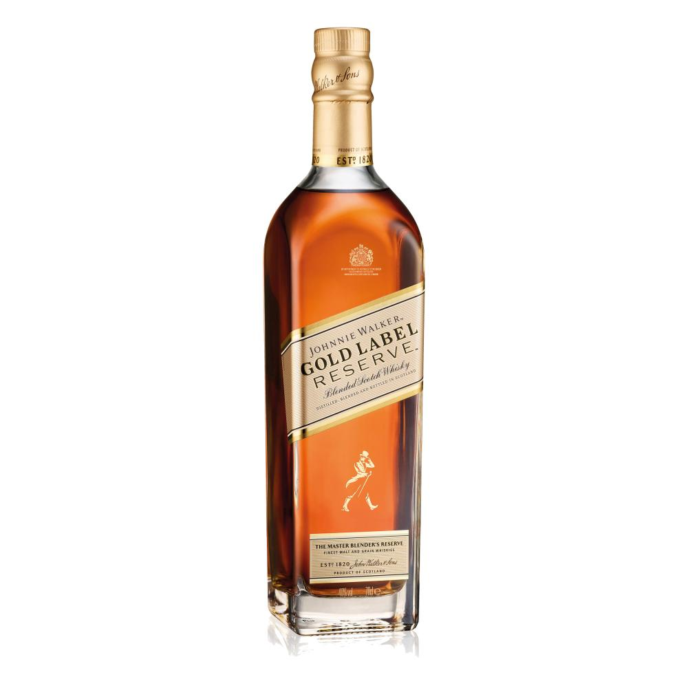 Vatertags-Set-Johnnie-Walker-Gold-Label-Reserve-Blended-Whisky-Scotch-40-Glas Indexbild 3