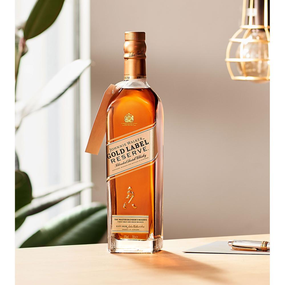Vatertags-Set-Johnnie-Walker-Gold-Label-Reserve-Blended-Whisky-Scotch-40-Glas Indexbild 6
