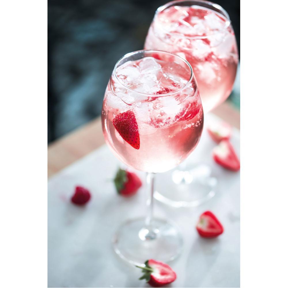 Indexbild 9 - Gordons Premium Pink Distilled Gin Set mit 2 Gläsern Alkohol Flasche 37.5% 700ml