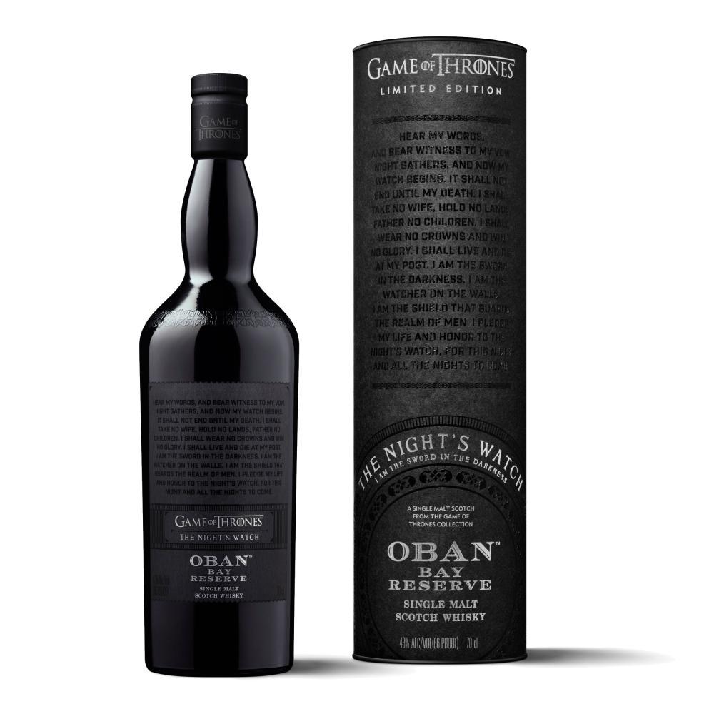 Oban-Bay-Reserve-The-Nights-Watch-Game-of-Thrones-Whisky-2er-Set-43-2x700ml Indexbild 4