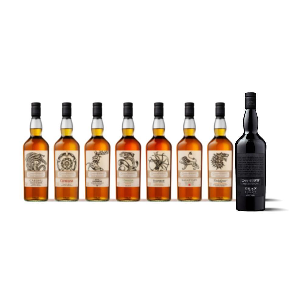 Oban-Bay-Reserve-The-Nights-Watch-Game-of-Thrones-Whisky-2er-Set-43-2x700ml Indexbild 5