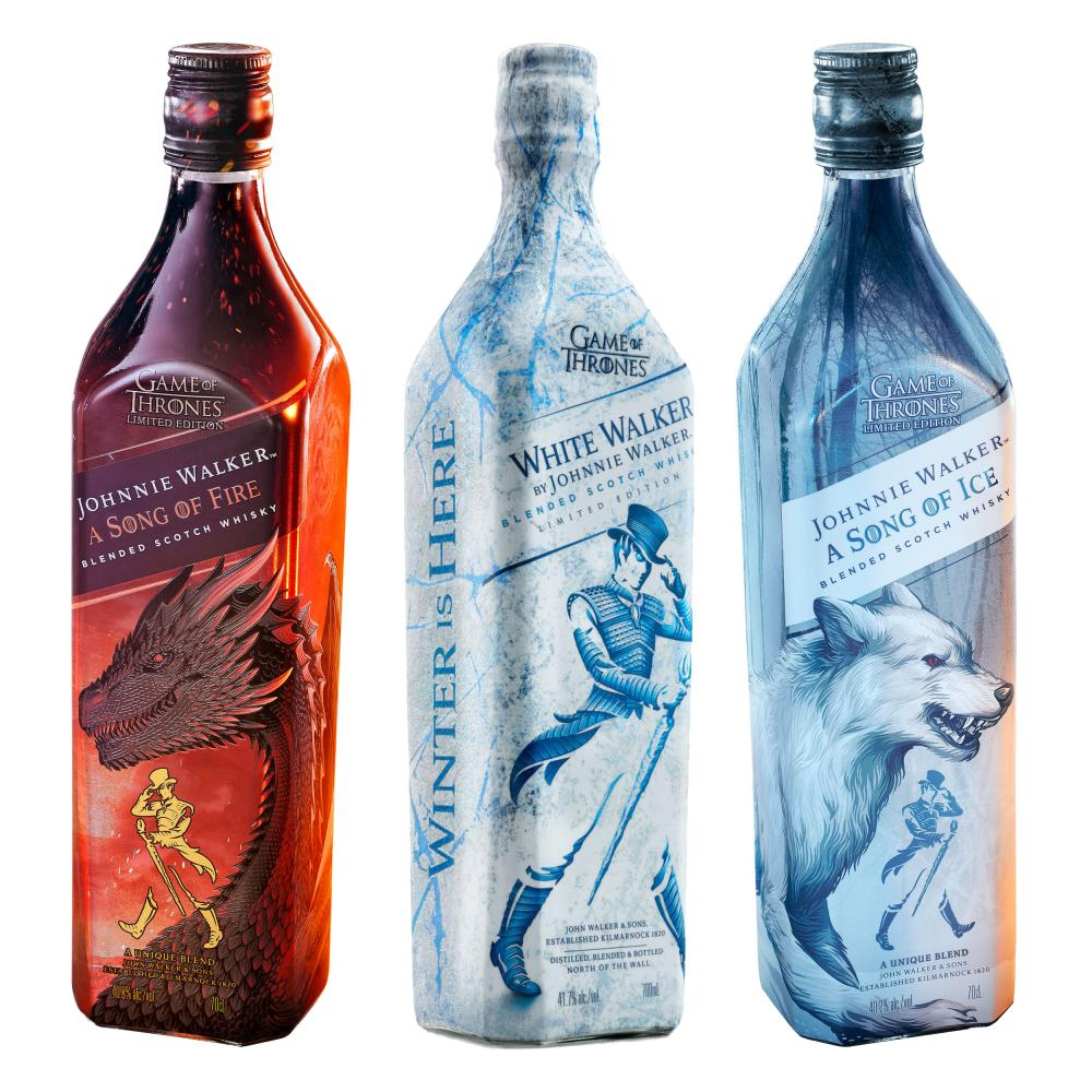 Johnnie-Walker-A-Song-of-Fire-amp-Ice-Whisky-White-Walker-Game-of-Thrones-3x700ml
