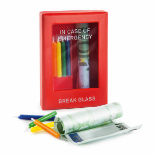 Donkey Products Emergency Box Birthday Gift Of Money Present