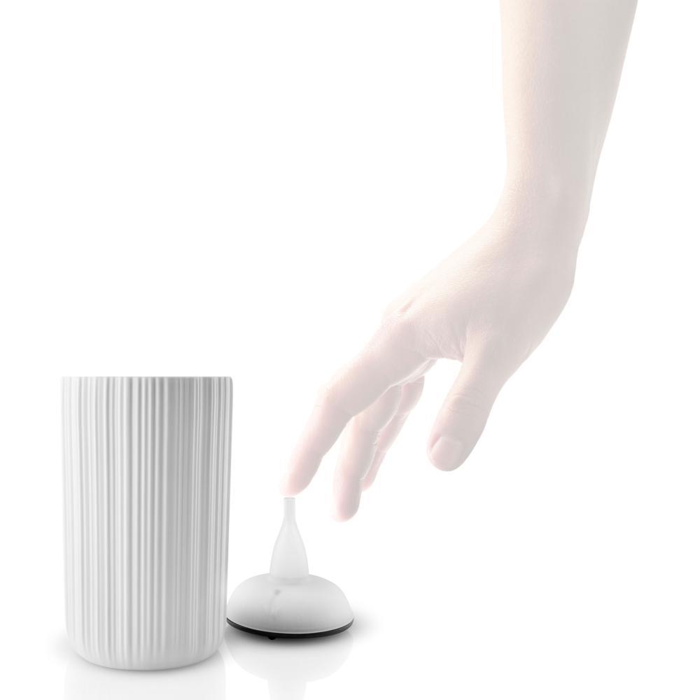 Eva solo candeleros m LED vela viento luz decoración de porcelana//plástico blanco 13cm
