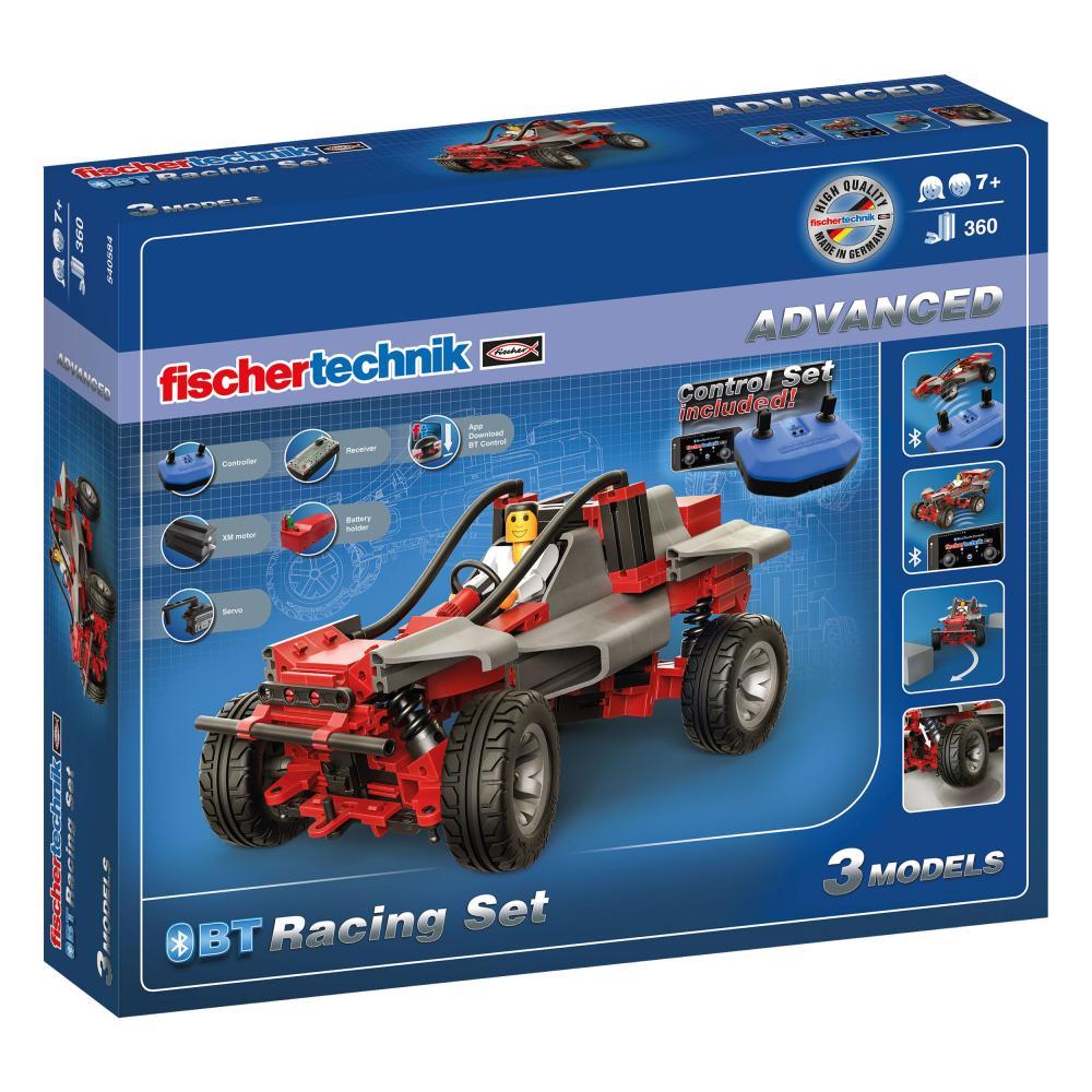 Fischertechnik Advanced BT Racing Set 360pcs Kit de Construcción para Niños