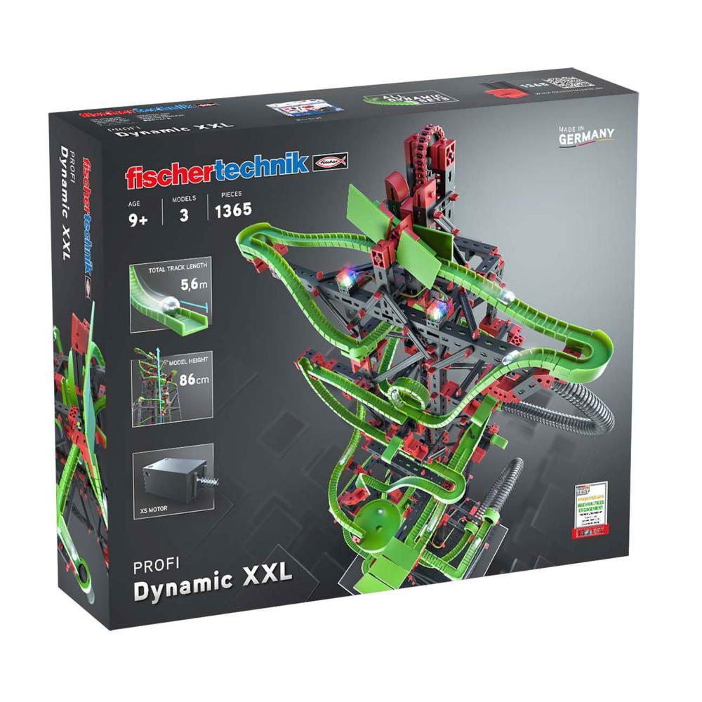 Fischertechnik Profi Dynamic XXL 1310tlg Rolling Acción bala ferroCocheril caja de herramientas