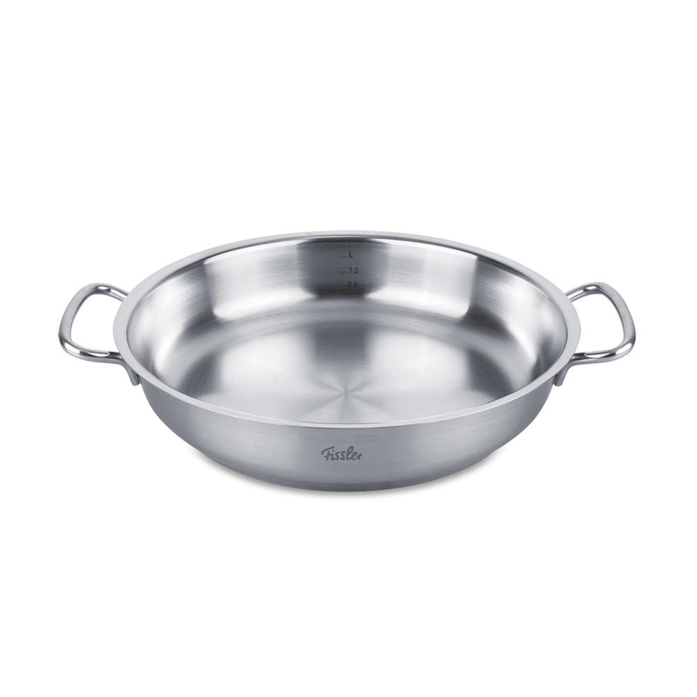 Fissler Original-Profi Collection Stainless Steel Serving Pan, Induction, Ø 32cm