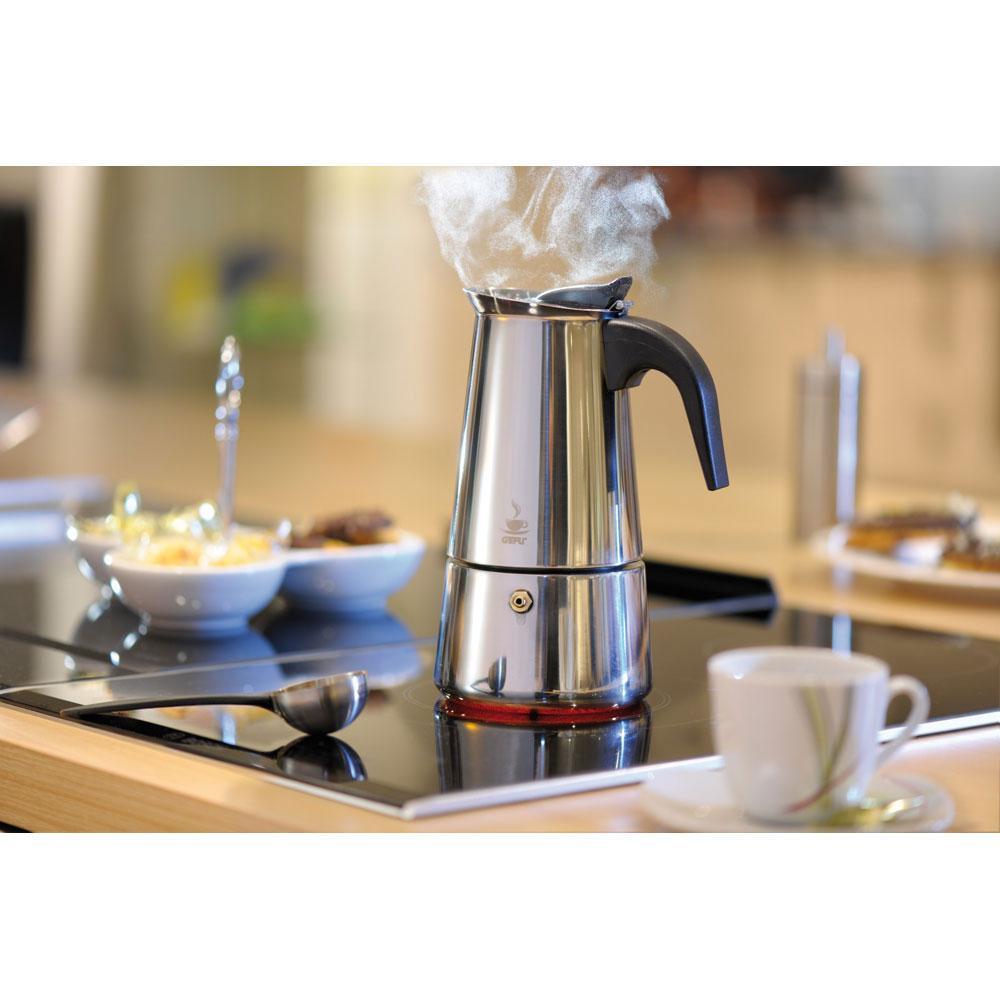 Servir Espresso Réchaud Emilio Expresso-Cafetière pour 4 Tasses Induction adapté 16150
