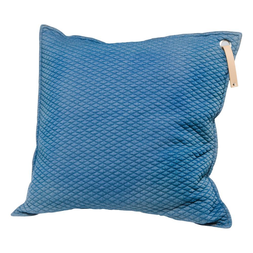 Goebel Scandic Home Aurora Kissen Kissenbezug Kopfkissen Baumwolle blue 60 cm