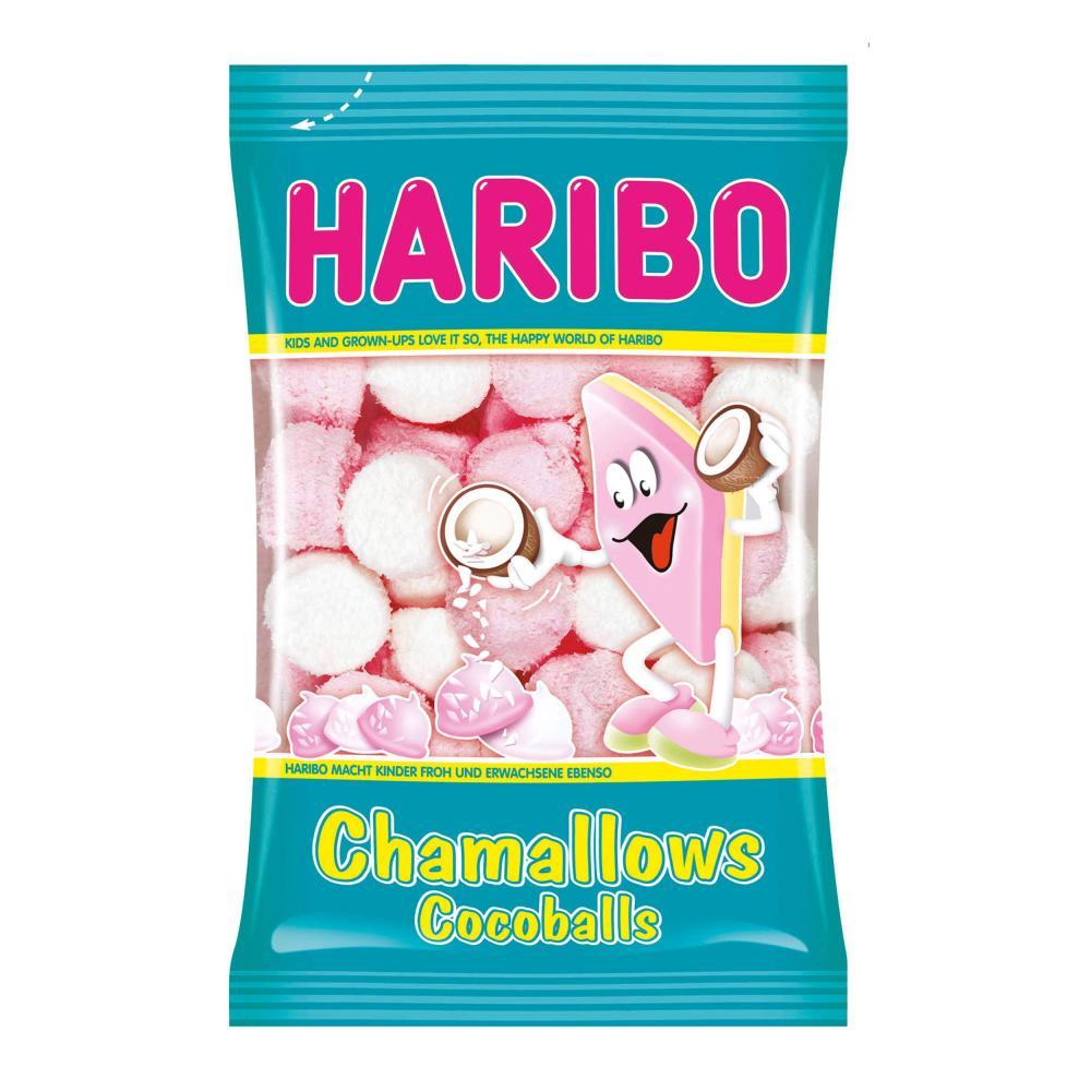 Haribo Chamallows Cocoballs Schaumzucker Marshmallows Mausespeck 200 g